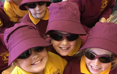 School Shades offer protective eyewear for primary school students