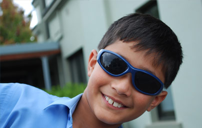 School Shades sunglasses help to protect children's eyes and encourage sunglasses usage that are vital for good eye health of our children