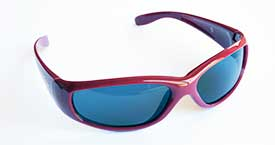 School Shades wrap-around sunglasses block maximum ultraviolet rays